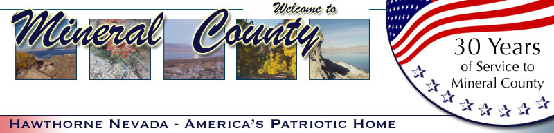 Welcome to the Mineral County Chamber Of Commerce of Hawthorne, Nevada